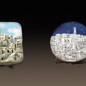Sassi di Matera in terracotta
